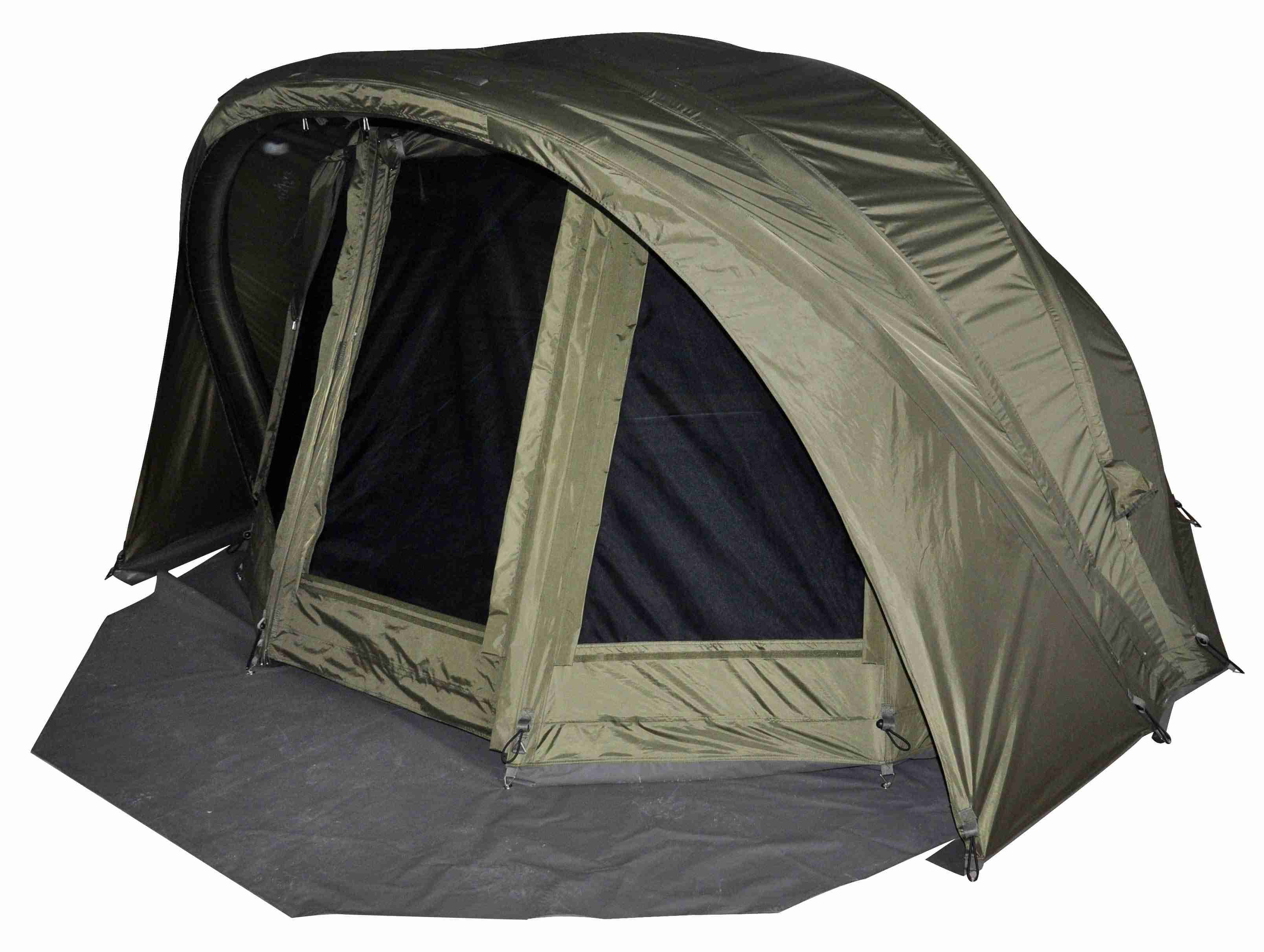 Angelzelt, ​MK-Angelsport Air Dome - Aufblasbares Bivvy, Bivvy, Brolly, Karpfenzelt