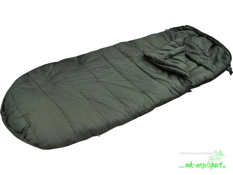 Schlafsack, Schlafsack MK-Angelsport 5 Seasons Carpers Night Pro Sleeping Bag