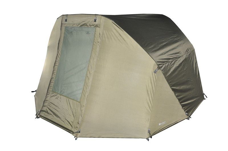 Angelzelte, Bundle Bivvy Carpline24 Economic 2 Mann Angelzelt + Winterskin, Overwrap