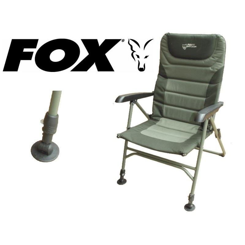 Angelstuhl, Fox Warrior Arm Chair XL, Angelliegen, Angelerstühle